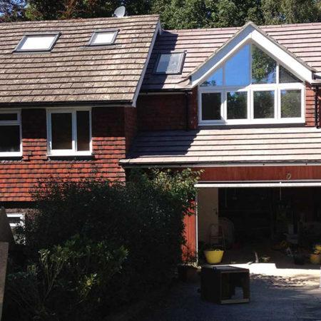 double storey house extension in Tunbridge Wells