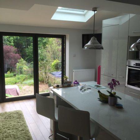 house kitchen extension in Tunbridge Wells