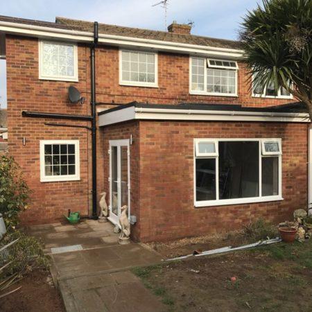 rear house extension in Tunbridge Wells, Kent
